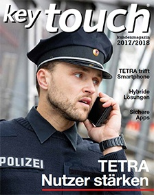 Key Touch Kundenmagazin 2017/2018 - cover