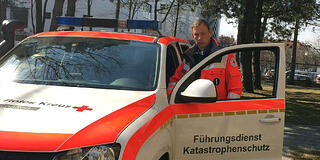 Red Cross Katastrophenschutz vehicle